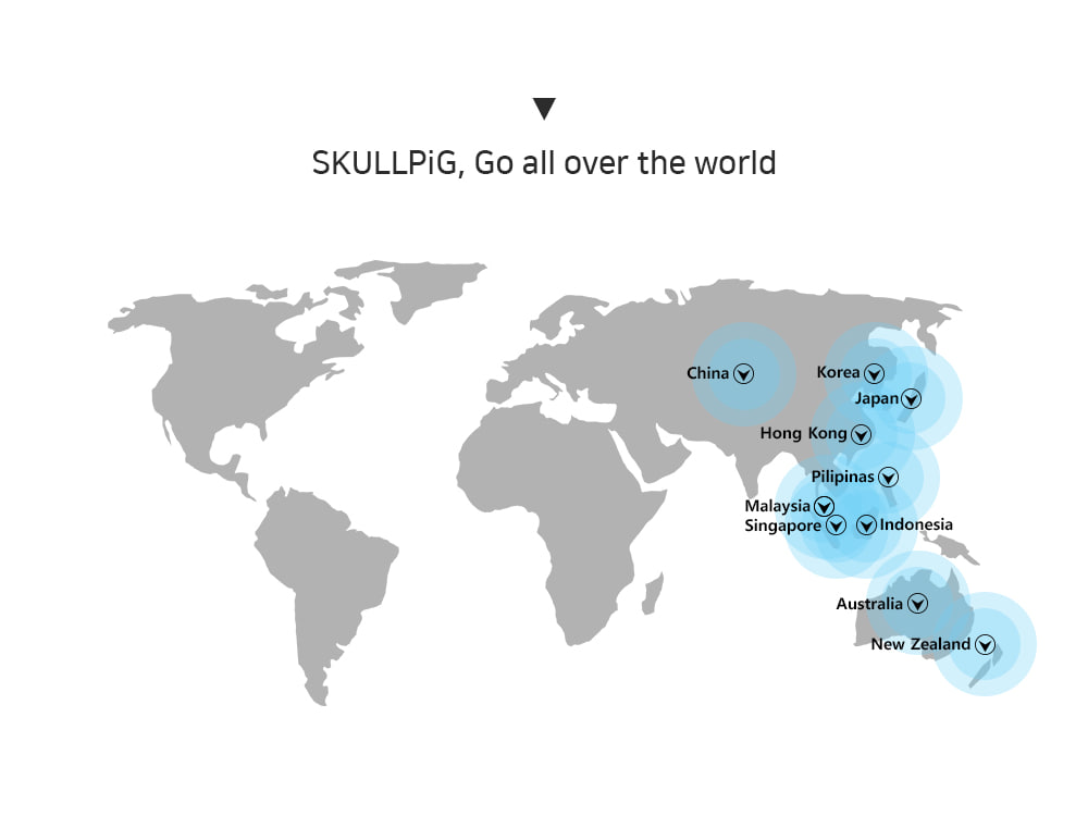스컬피그(SKULLPIG) [SA4202] 요가삭스 피치핑크